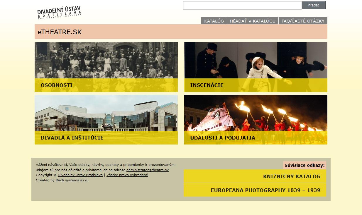 Divadelný ústav Bratislava