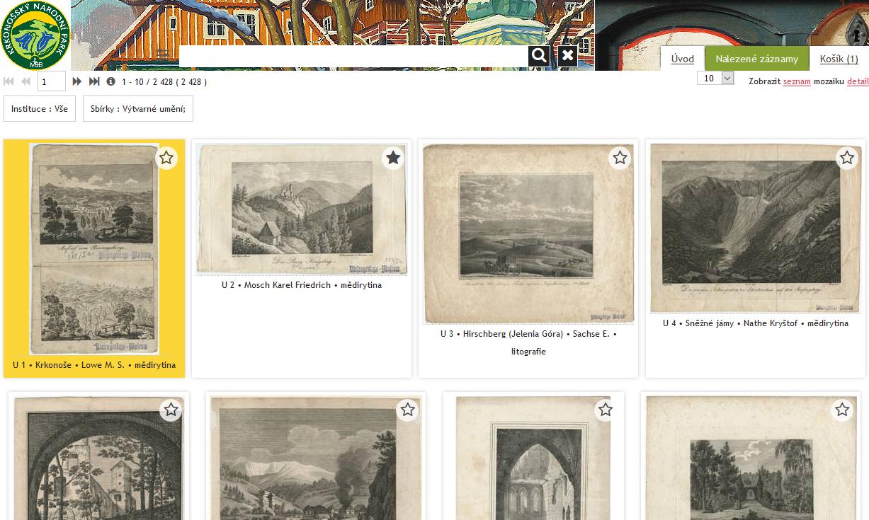 Katalog sbírek Krkonošského muzea ve Vrchlabí